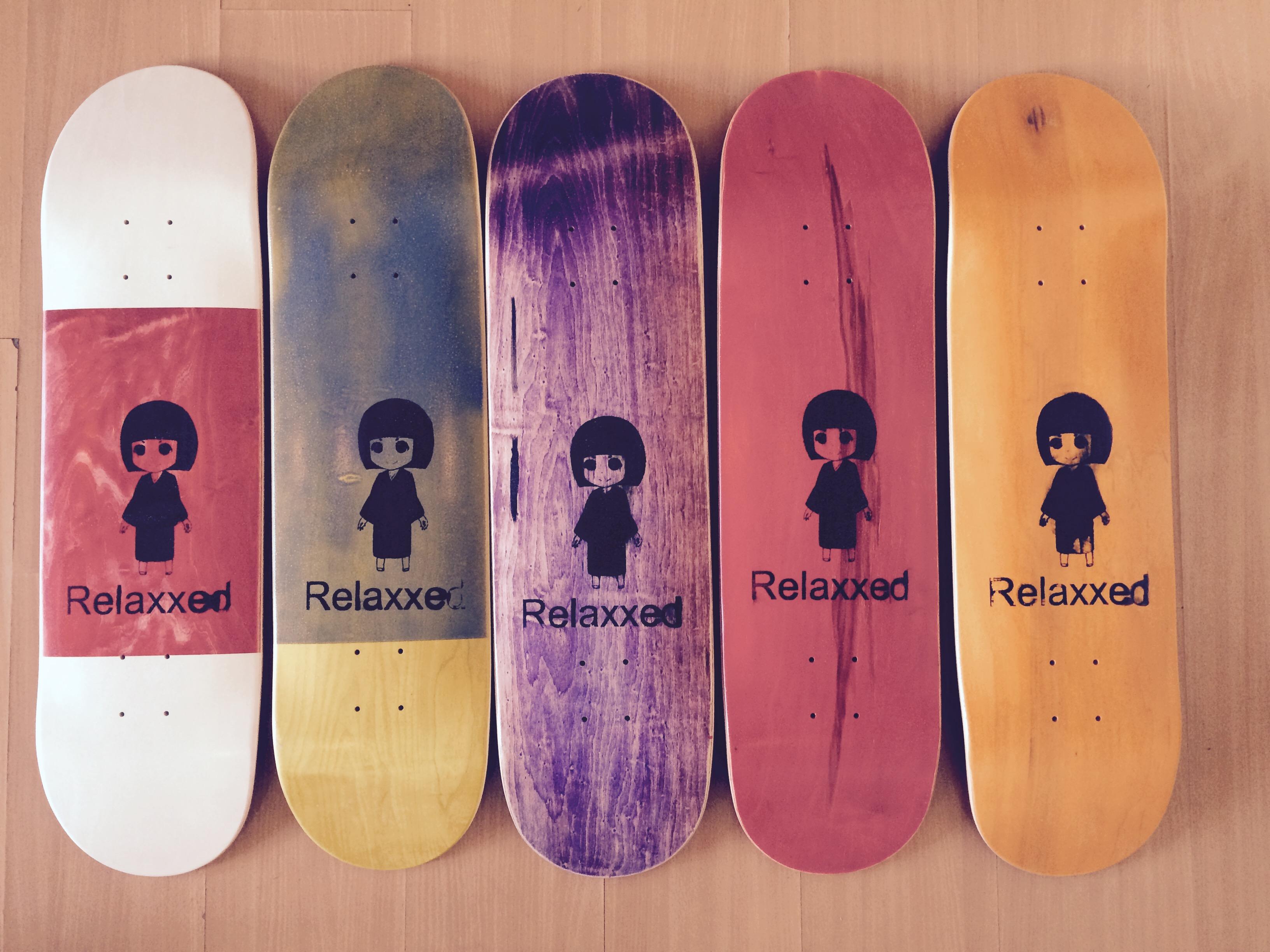 relaxxed pro decks asian 5 colors scheme